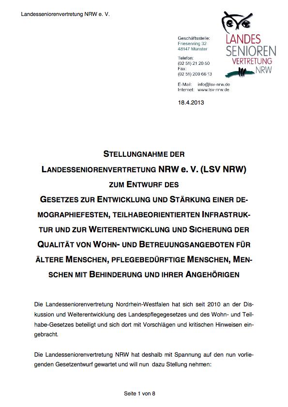 2013 Stellungnahme LPG WTG Entwurf Pdf Image