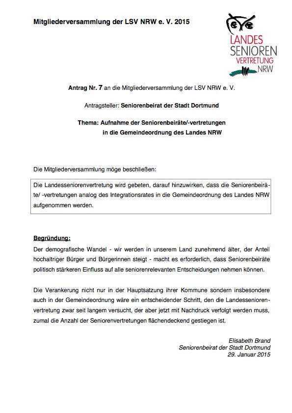 Antrag Nr  7 Dortmund Pdf Image