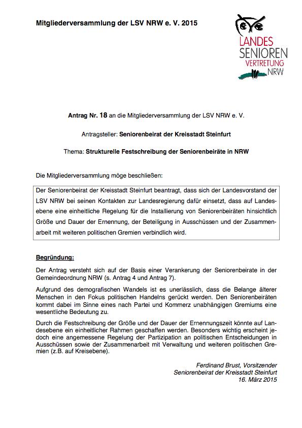Antrag Nr 18 MV 2015 Steinfurt Pdf Image