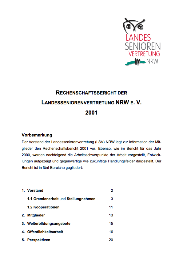 Rechenschaftsbericht 2001 Pdf Image
