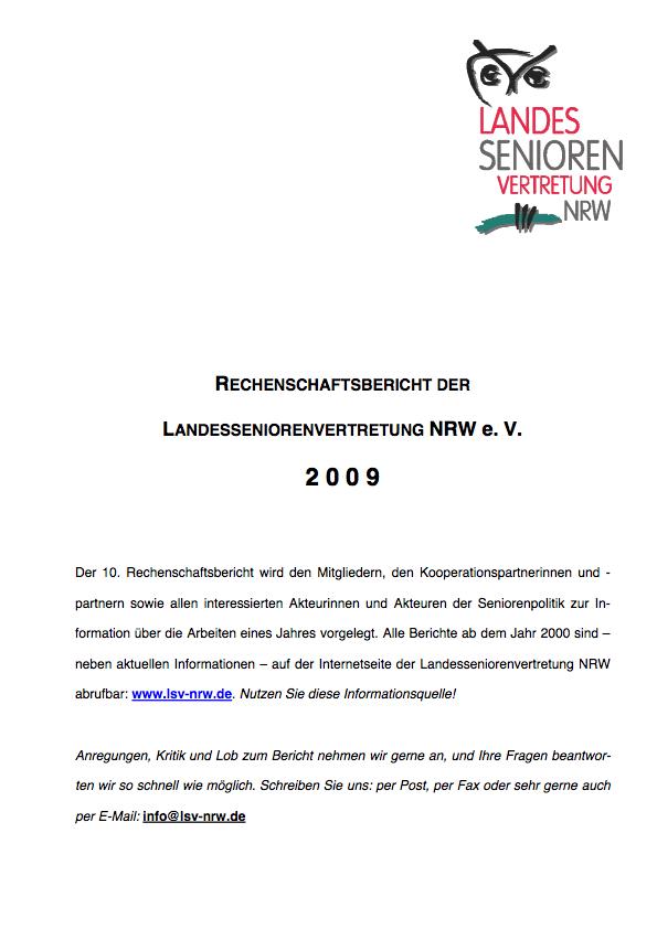 Rechenschaftsbericht 2009 Pdf Image