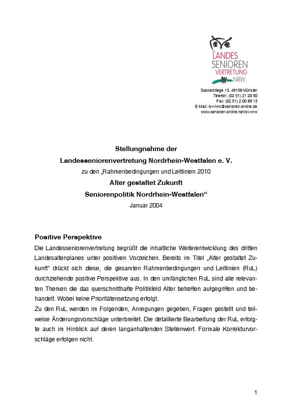 Stellungnahme Leitlinien 2004 Pdf Image