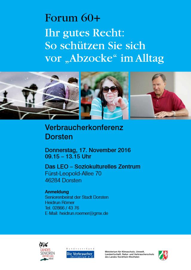 Plakat A3 Dorsten Abzocke NRW 10 16 Pdf Image