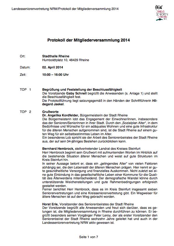 Protokoll MV2014inkl Anlagen Pdf Image