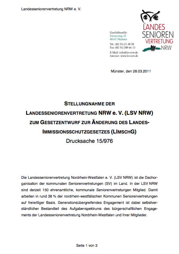 2011 Stellungnahme LImschG Pdf Image