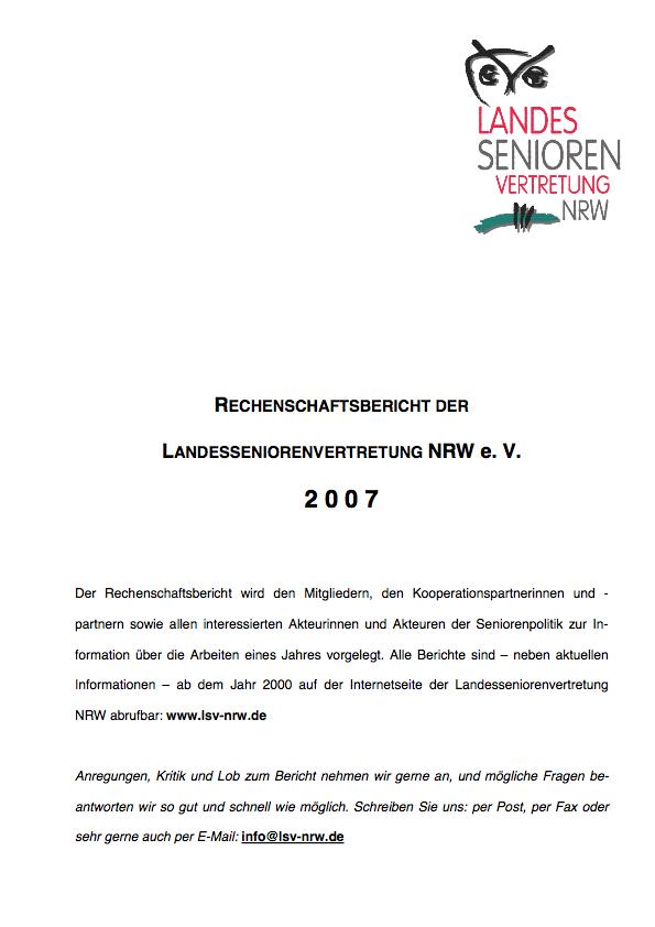 Rechenschaftsbericht 2007 Pdf Image